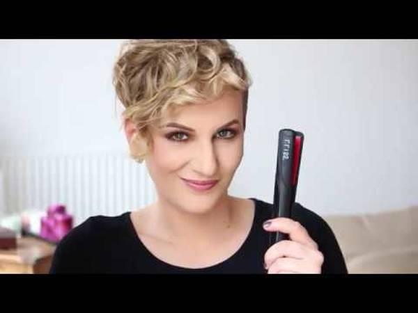 lisseur cheveux courts
