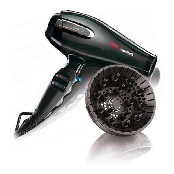 seche cheveux bouclés