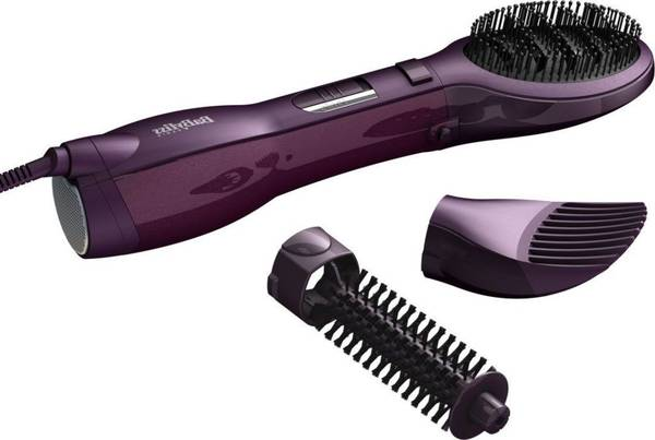 brosse soufflante rotative cheveux courts